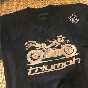 NWOT Vintage Triumph Short Sleeve T-shirt